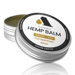 Advance Biotech CBD Balm 800mg Open