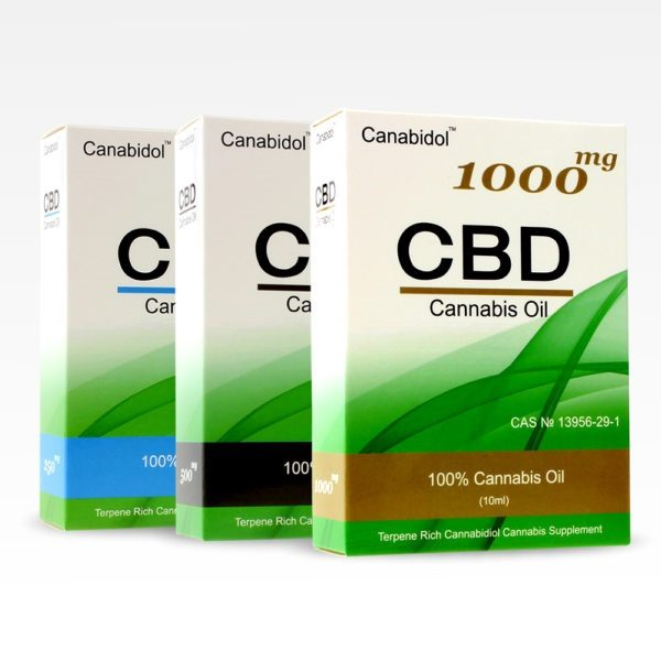 Canabidiol CBD Oil Drops Box