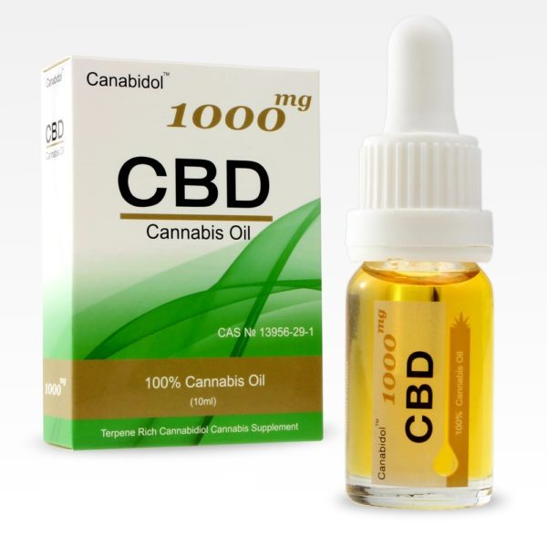 CBD Oils Drops 1000mg FRONT