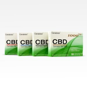 Canabidiol CBD Gel Tabs All