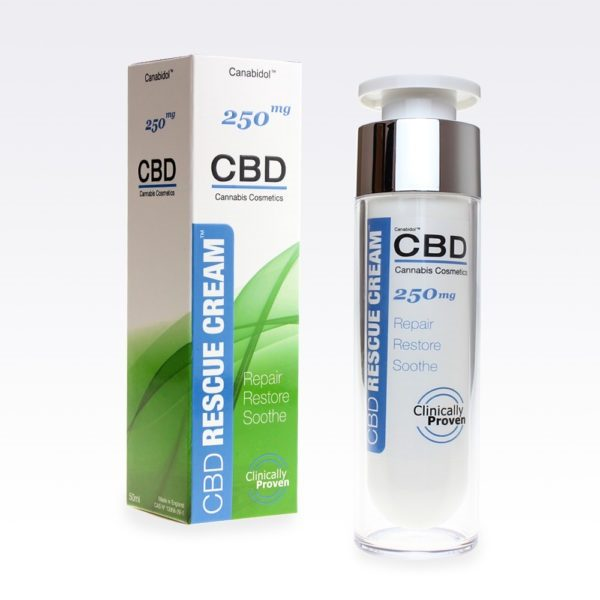 Canabidol CBD Rescue Cream 250mg Front