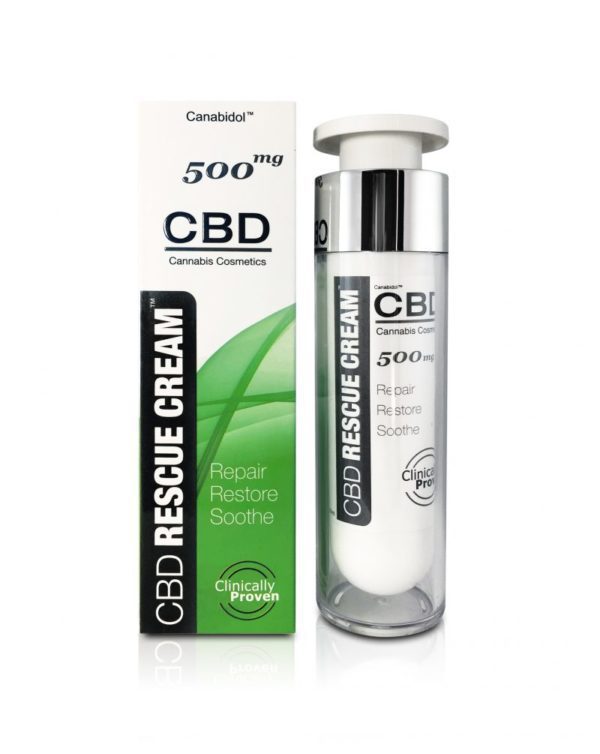 Canabidol CBD Rescue Cream 500mg BOTTLE