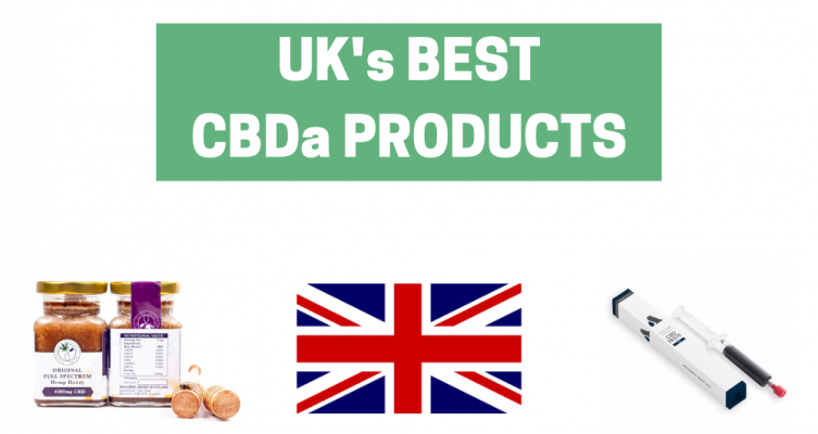 UK's Best CBDa Products