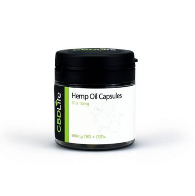 CBD Life Hemp Oil Capsules 750mg