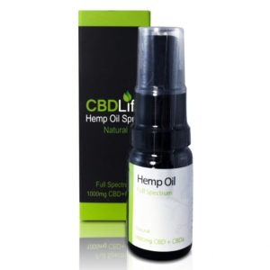 CBD Life Natural 1000mg Oil out