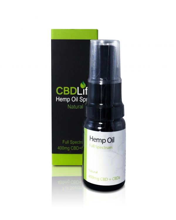 CBD Life Natural 400mg Oil Out
