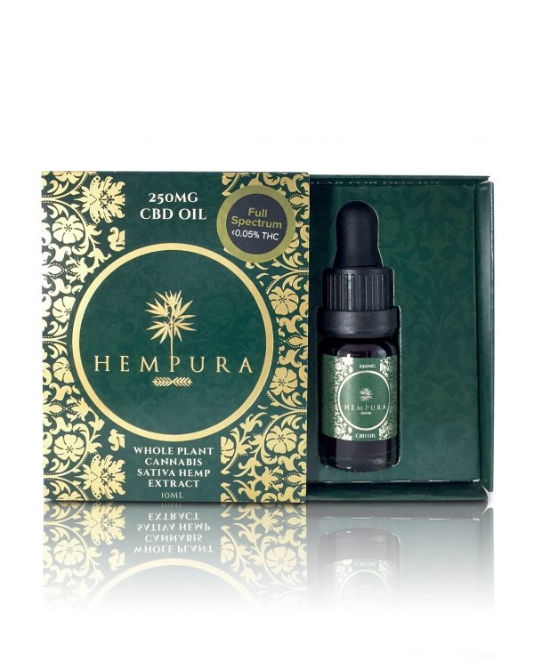 Hempura 250mg Oil open