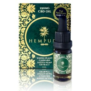 Hempura 250mg Oil w bottle