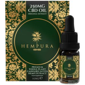 Hempura Full Spectrum CBD Oil 250mg