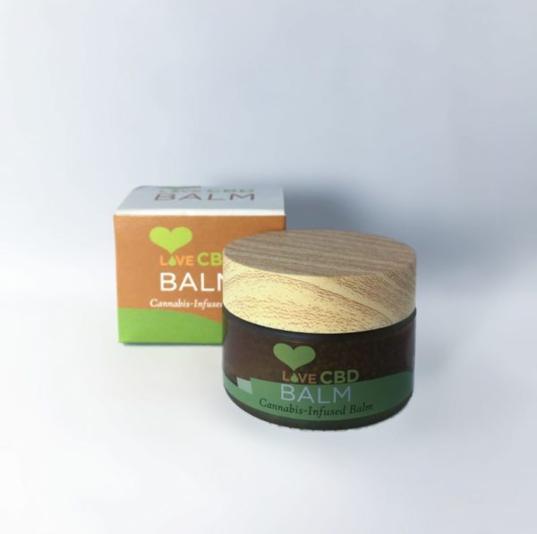 Love CBD balm 300mg open