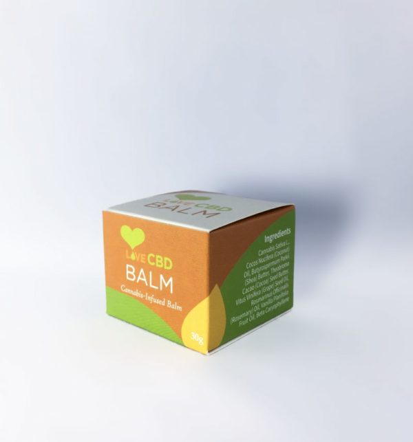 Love CBD balm side