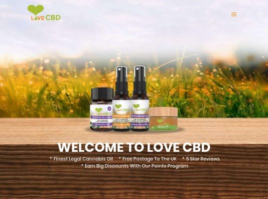 Love CBD Website Review
