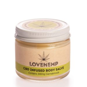 Love Hemp Body Salve 300mg (1)