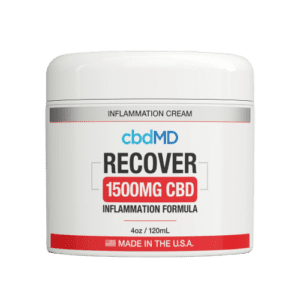 cbdMD CBD Recover Cream (1500mg)