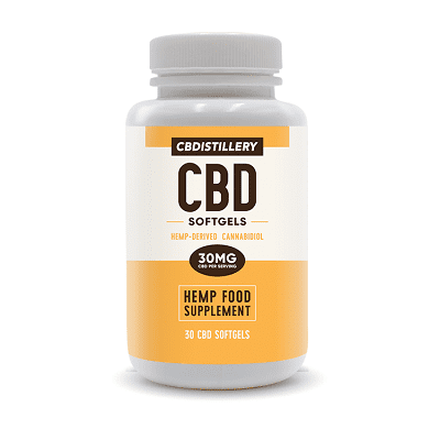 CBDistillery Broad-Spectrum Softgels