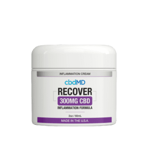 cbdMD CBD Recover Cream (300mg)