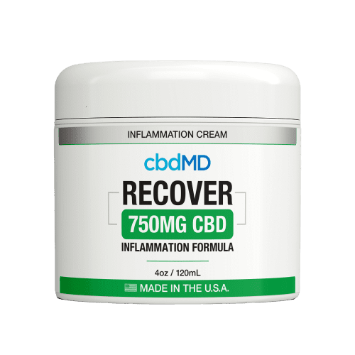 cbdMD CBD Recover Cream (750mg)