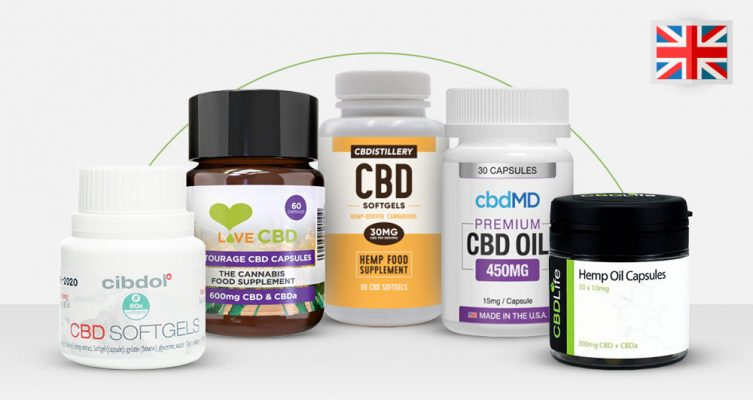 Best CBD Capsules & Tablets UK