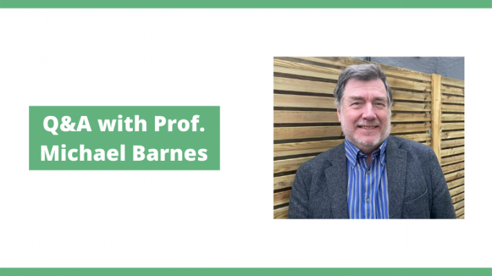 The UK CBD Titans Series: A few Questions with Prof. Michael Barnes