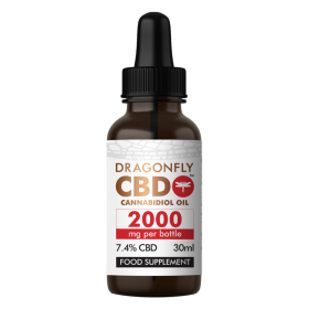 DragonflyCBD Narrow-Spectrum Oil (2000mg)