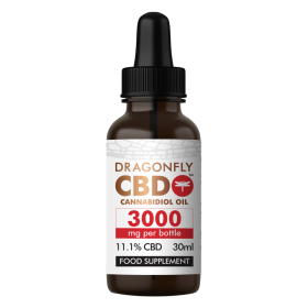 DragonflyCBD Narrow-Spectrum Oil (3000mg)