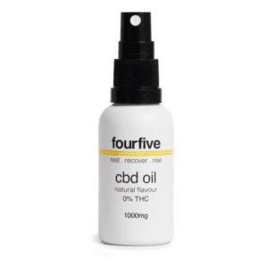 FourFive 0% THC CBD Oil (1000mg)