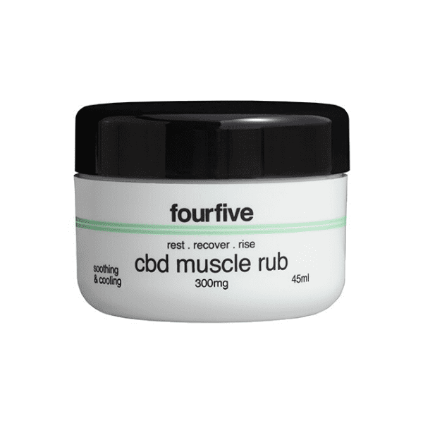 FourFive CBD Muscle Rub (300mg)
