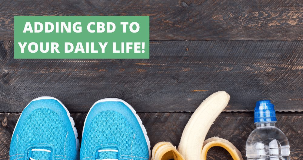 4 Ways to Incorporate CBD Into Your Daily Life