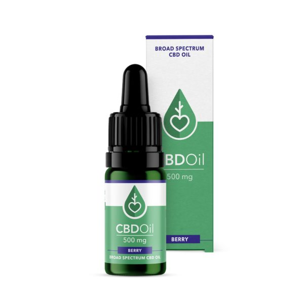 Broad Spectrum CBD Oil (500mg) Berry